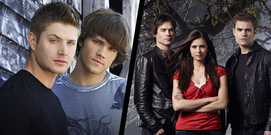supernatural season7 the vampire diaries season 3 CW Orders Supernatural Season 7, The Vampire Diaries Season 3