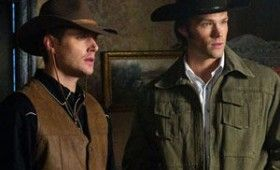 supernatural wild west 1 280x170 Supernatural Frontierland Images: Sam and Dean in the Old West