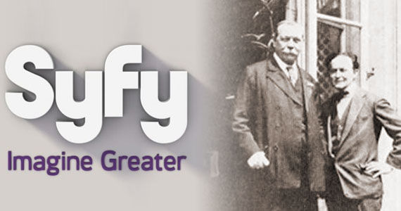 syfy among the spirits houdini doyle Syfy Snags Harry Houdini & Sir Arthur Conan Doyle Mystery Series