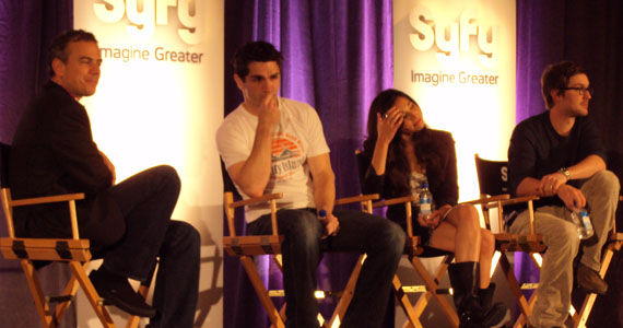 syfy behing human panel SyFys Being Human: The Right Way To Remake A British TV Show