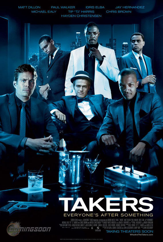 takers poster New Posters: Where The Wild Things Are, Michael Jackson & More!