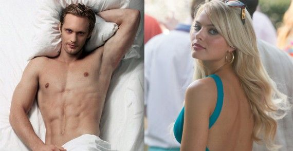 tarzan alexander skarsgard margot robbie 570x294 Alexander Skarsgård 3D Tarzan Movie Arriving in 2016