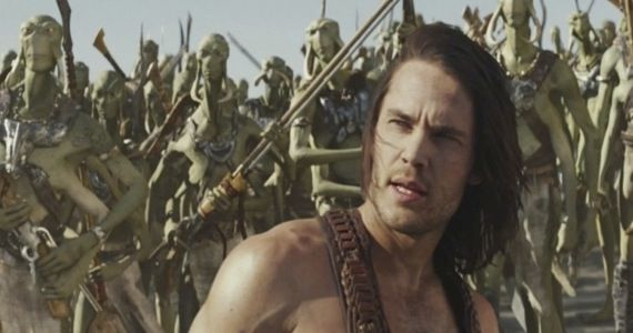 Taylor Kitsch in the 'John Carter' movie