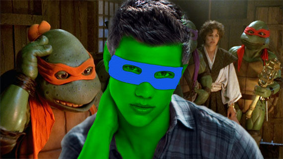 taylor lautner ninja turtles Taylor Lautner Cast as Leonardo in Ninja Turtles Reboot [Updated]