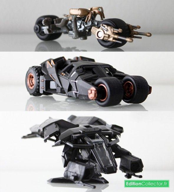 tdk vehicles The Dark Knight Trilogy Box Set Vehicles