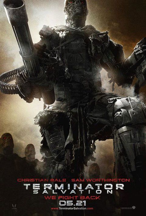 terminator salvation 0314 New Posters For Terminator Salvation, Knowing & Dark Mirror