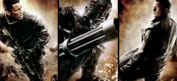 terminator salvation bale worthington john connor marcus wright1 The Battle Over The Rights To Terminator 5