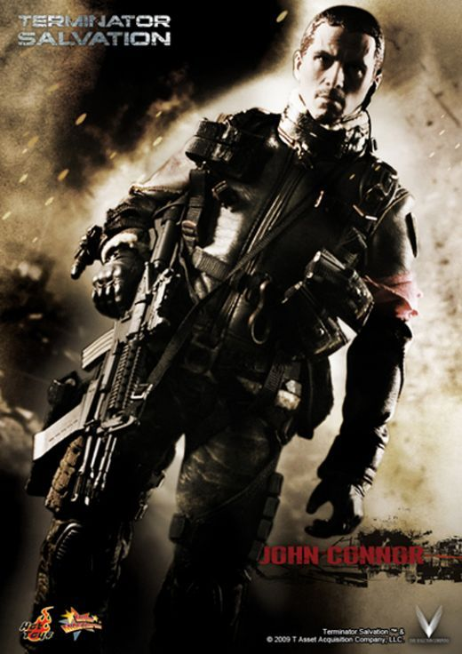 terminator salvation connor poster New Posters For Terminator Salvation, Knowing & Dark Mirror