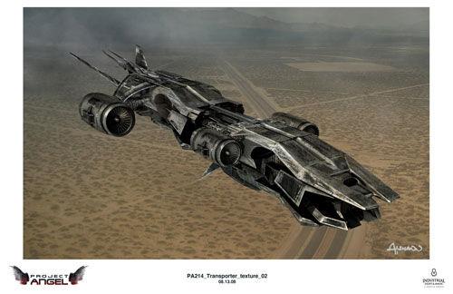 Human Transport Terminator Salvation