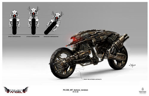 Moto-Terminator from Terminator Salvation