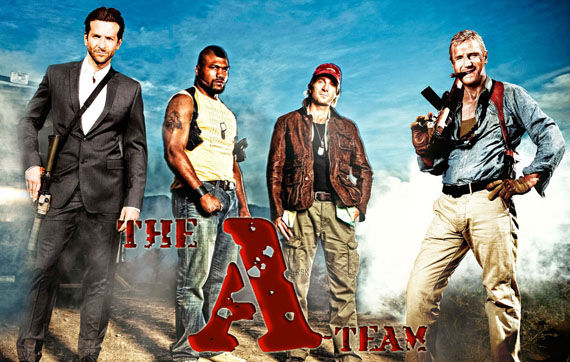 the a team trailer New A Team Posters: Same Guys, Slightly Different Poses