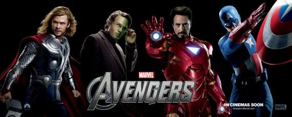 the avengers 2012 20111214115951598 570x228 New Avengers, Prometheus, & John Carter Posters Roundup