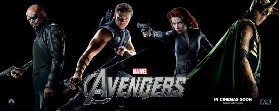 the avengers 2012 20111214115952548 570x228 New Avengers, Prometheus, & John Carter Posters Roundup