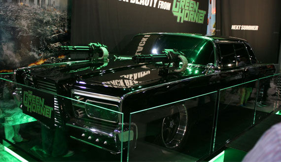The Black Beauty from The Green Hornet is an iconic car