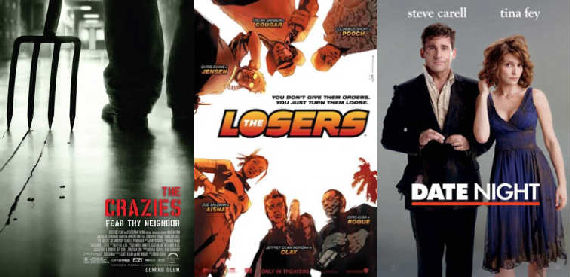 the crazies the losers date night posters New Videos of Crazies, Losers & Date Night