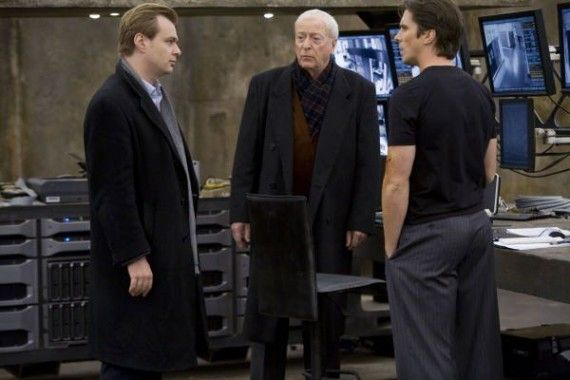 the dark knight christian bale michael caine christopher nolan batman 570x380 Chris Nolan Speaks at the Hero Complex Film Festival
