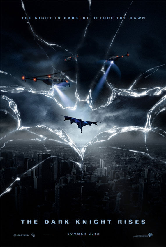 the dark knight rises poster Movie Poster Roundup: Paul, Thor, Hobo with a Shotgun, and More