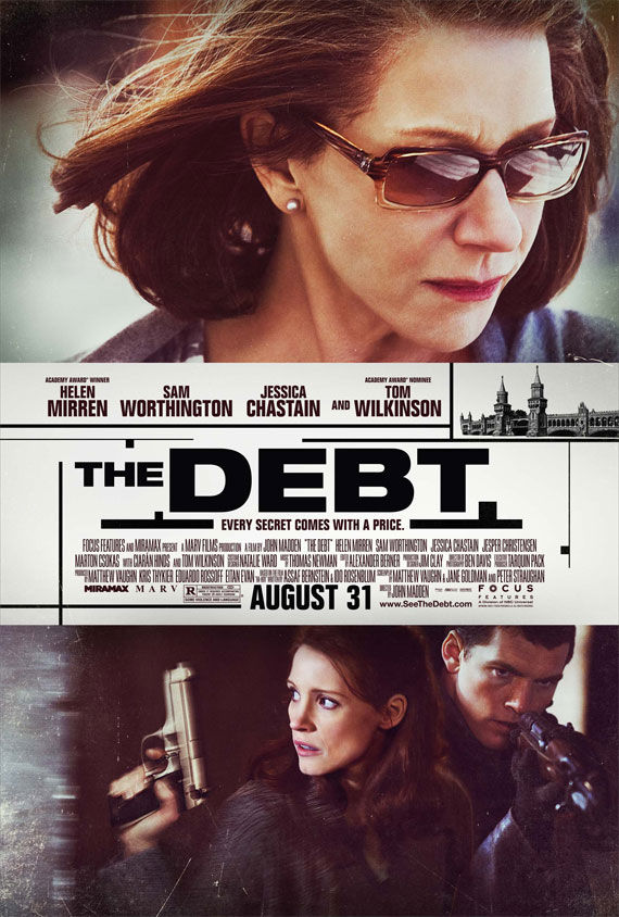 the debt poster Movie Poster Roundup: Conan the Barbarian, Real Steel & More
