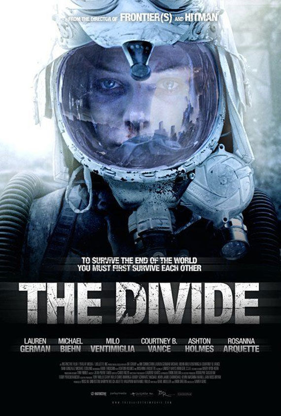 the divide movie poster Movie Poster Roundup: Thor, Pirates of the Caribbean 4, Your Highness & More