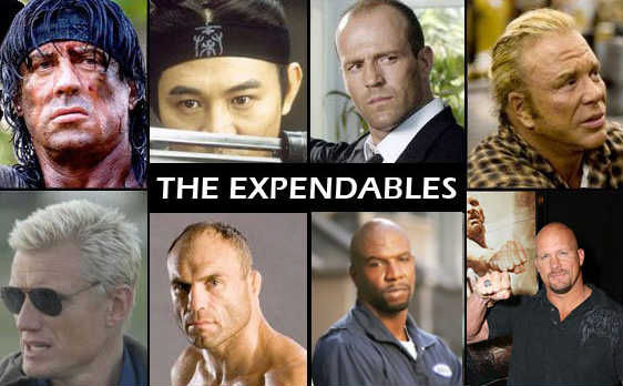 the expendables cast The Expendables Trailer