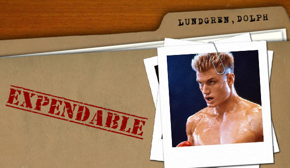 the expendables dolph lundgren Why Theyre Expendable: Dolph Lundgren and Eric Roberts