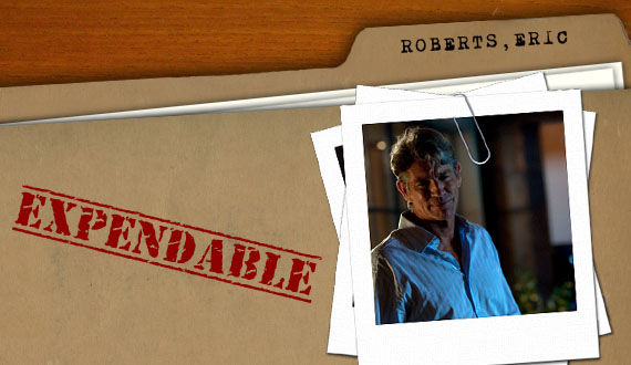 the expendables eric roberts Why Theyre Expendable: Dolph Lundgren and Eric Roberts