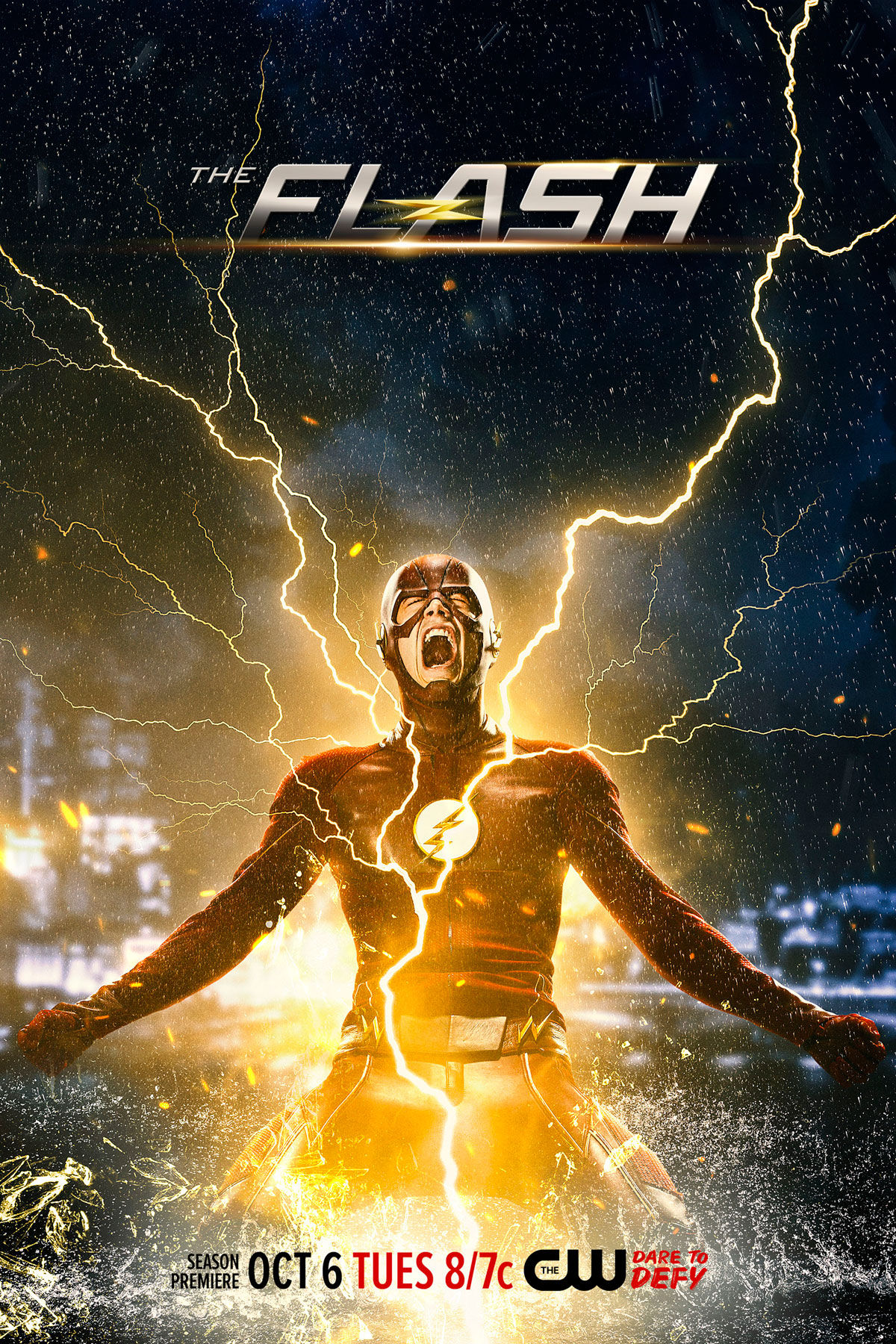 The flash season 2 promo amp images highlight atom smasher and more