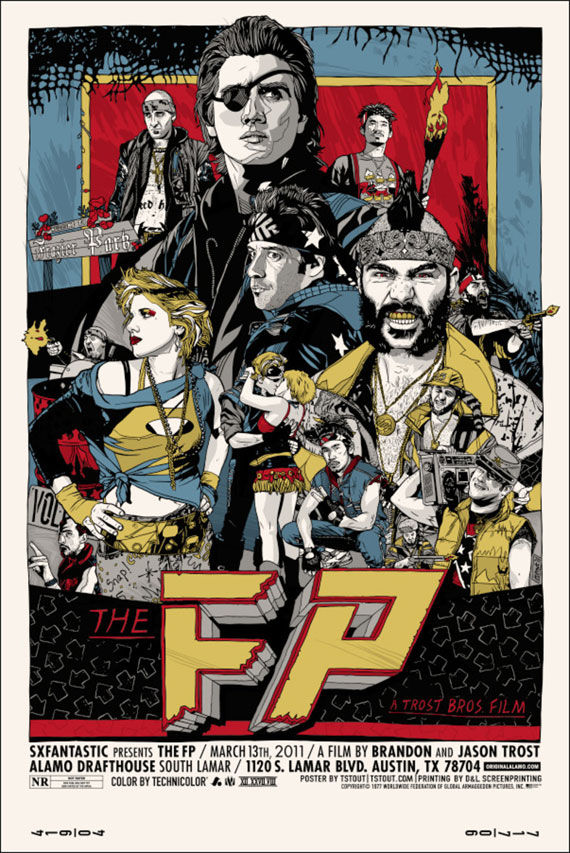 the fp sxsw poster Movie Poster Roundup: Fast Five, Thor, X Men: First Class & More