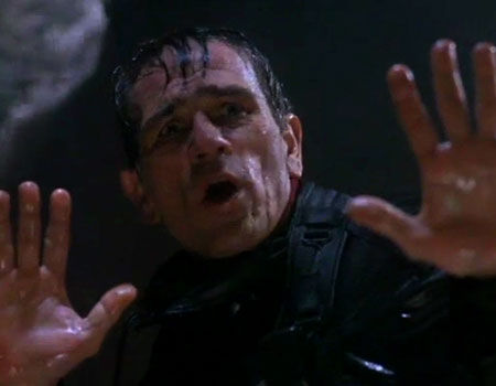 Tommy Lee Jones as Samuel Gerard in The Fugitive
