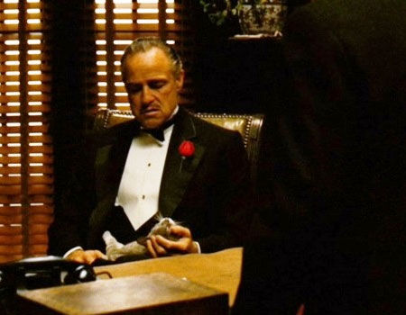 Marlon Brando as Don Vito Corleone in The Godfather
