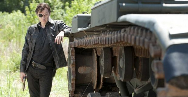 the governor david morrissey with tank The Walking Dead: Will the Governor Be Back (Again)?