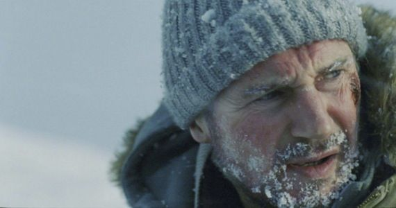 the grey liam neeson The Grey Trailer: Liam Neeson vs. Mother Nature