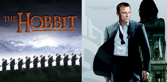 the hobbit bond New James Bond Film Goes From Stalled to Canceled [Updated]