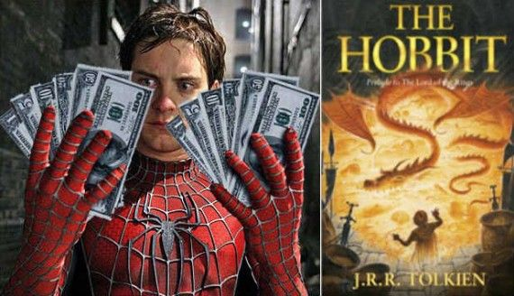the hobbit tobey maguire 570x328 Tobey Maguire In Talks for The Hobbit? [Updated]