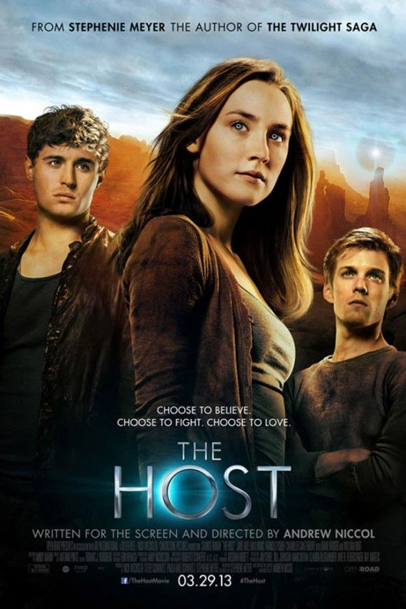 the host poster 570x855 The Host Trailer & Poster: Stephenie Meyers Alien Love Story