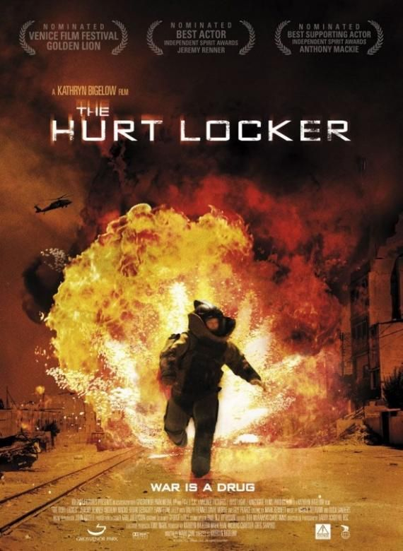 the hurt locker poster1 The Hurt Locker poster