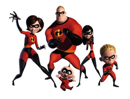 the incredibles is pixars supehero property Dodgeball Writer Reworking Umbrella Academy Movie