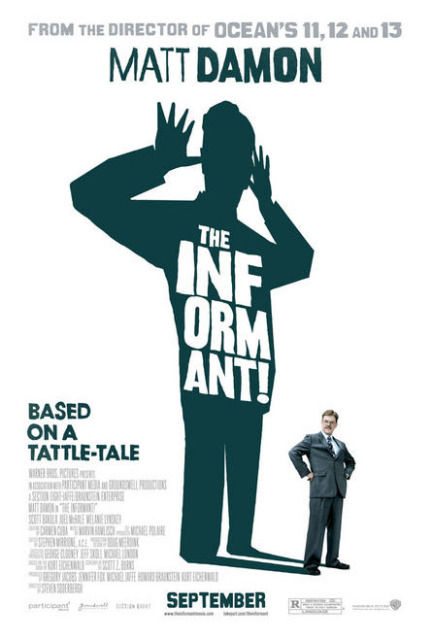 the informant new poster The Informant! new poster