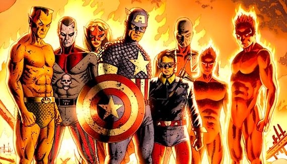 the invaders comic book Captain America Comic Book & Movie Comparison Guide