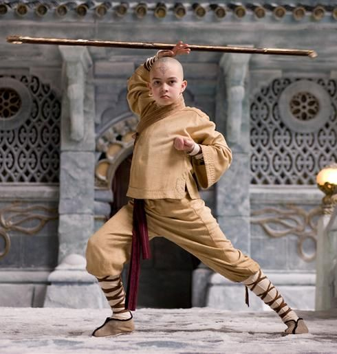 the last airbender noah ringer aang The Last Airbender Trailer #2