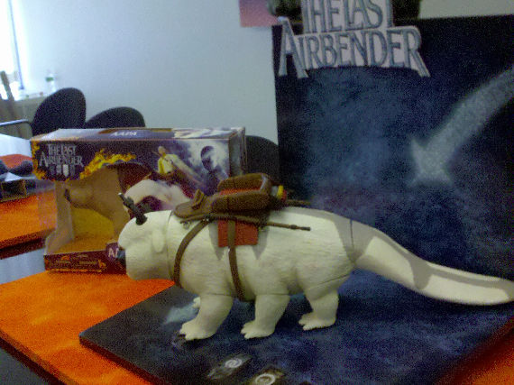 the last airbender toys appa side The Last Airbender: Appa and Other Characters Revealed!