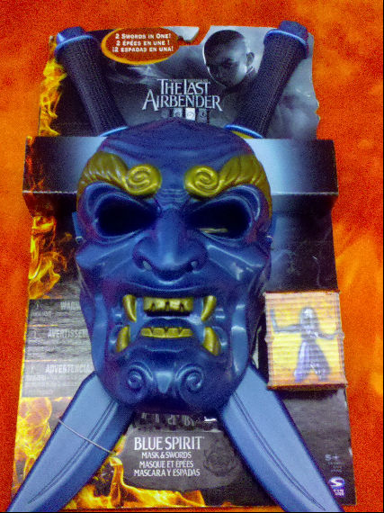 the last airbender toys blue spirit mask The Last Airbender: Appa and Other Characters Revealed!