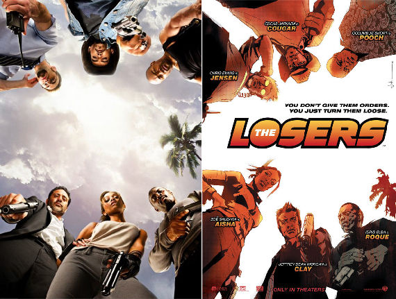 the losers movie poster New Wolfman & Losers Images; Paris With Love Clips
