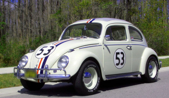 the love bug 25 Most Iconic Cars From TV & Movies