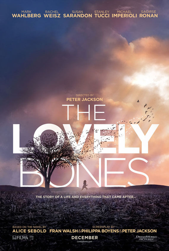 the lovely bones poster peter jackson Poster Friday: Toy Story 3, New Moon, Pirate Radio & More!