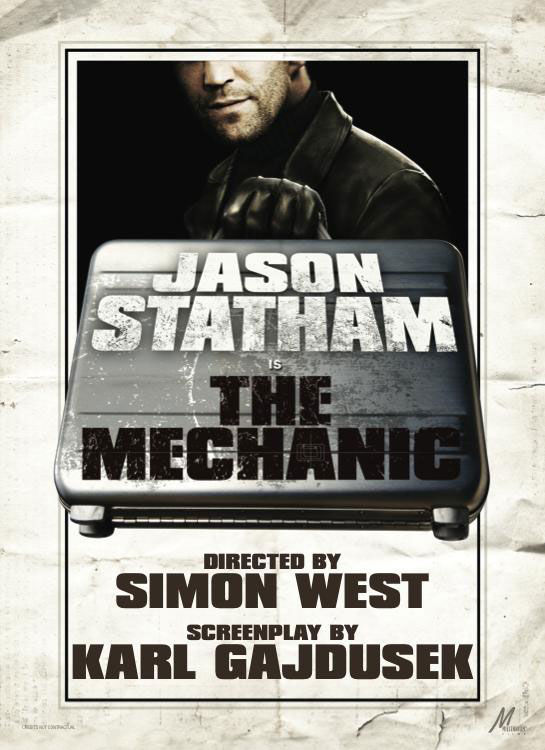 the mechanic poster jason statham Poster Friday: New Moon, Caprica, The Crazies & More!