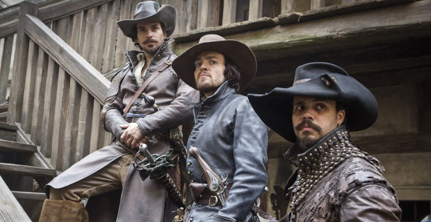 the musketeers series premiere porthos aramis athos The Musketeers Series Premiere Review
