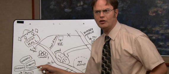 the office season 8 dwight The Office To End After Season 9; Documentary Crew Will Be Revealed
