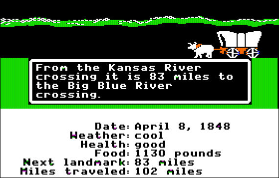 the oregon trail banner 1001 Ridiculous (but Possible) Upcoming Video Game Movies
