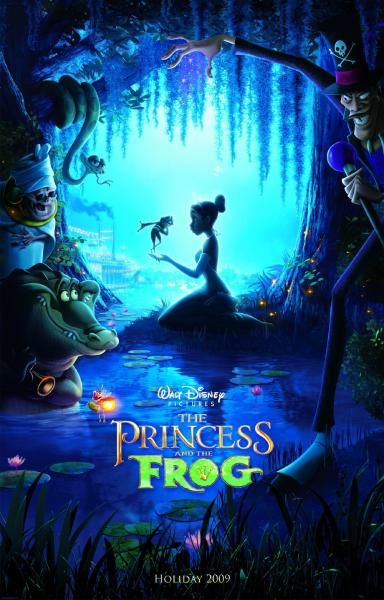the princess and the frog poster 0 Screen Rants 2009 Fall Movie Preview